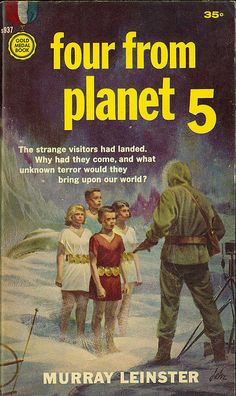 Four From Planet 5, 1959 I read this as a teenager in the 60s and loved it...