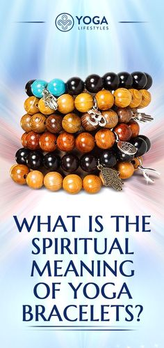 The spiritual meaning of yoga bracelets. #yoga #bracelet #om #handmadejewelry #handmade #handcrafted