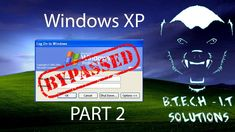 HOW TO | Bypass the windows XP Password - Part 2 Windows Xp, Guys And Girls, Science And Technology, Youtube, Youtubers, Youtube Movies