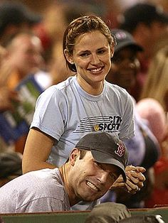 Jennifer Garner and Ben Affleck, 8/02/06
