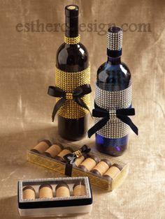 Best Dressed Wine Bottles | Esther O Design