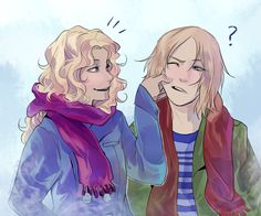cookiecreation: Magnus describing Annabeth's hair as 'wavy' and not 'curly' intrigues me