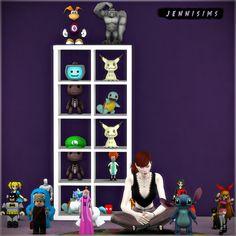 The Sims 4 CC || Jennisims || Toy Decor Set Vol 49