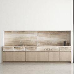 Brutal Kitchen by Piet Boon (CGI) on Behance Kitchen Furniture, Kitchen Interior, Minimal Home, Minimalist Kitchen, Kitchen Pantry, Architecture Design, Minimalism, Interior Design, Outdoor Decor