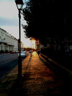 Sunset in the Georgian Quarter, Liverpool