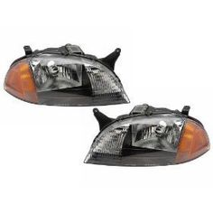 Chevy Metro Headlights OE Style Replacement Headlamps DriverPassenger Pair New >>> To view further for this item, visit the affiliate link Amazon.com.