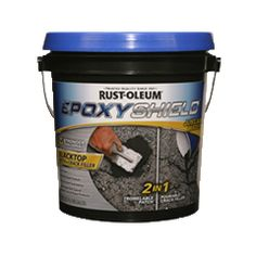 Easily restore a smooth surface to your worn and damaged driveway with Rust-Oleum® EPOXYSHIELD® Blacktop Patch & Crack Filler. Simply mix this dry powder with water and apply it to cracks and crevices to restore a strong, even surface.