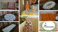 Ano Novo, Casa Nova!! 🏡💗  Encontre AQUI: www.elo7.com.br/decoracao/al/A3C7D , vários itens para renovar a decoração de sua casa.  Teremos o maior prazer em atendê-los. ~.~  www.facebook.com/artesane.vivianerummler #artesane #artesaneartesanato #decoração #casa #Crochê #bordado #Garrafadecorativa #almofada #renove