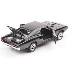 1/32 De Snelle En De Furious 7 Dodge Charger Legering Diecast Auto Modellen Kids Speelgoed Geschenken brinquedos Metalen Klassieke Model Cars