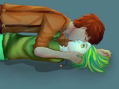Sam and Tim Kiss Again... by shana340 on DeviantArt