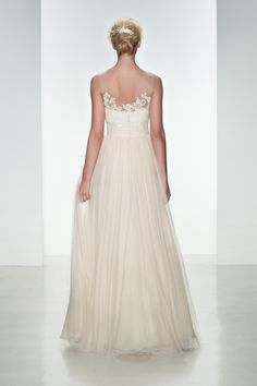 #Wedding dress from the Christos Spring 2015 collection. #bridal