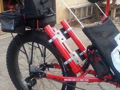 Side view of saddle bag.