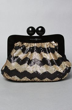 The Amy Makeup Bag in Sequins by Mata Hari at karmaloop.com