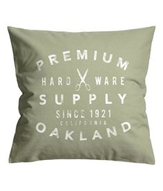 Old Fashion French Vintage Accent Decorative 100% Cotton Canvas Throw Pillow Cover Cushion 20-by-20-inch Printed Text Script (Sage Green) SweetyPie. http://www.amazon.com/dp/B015JBZDI8/ref=cm_sw_r_pi_dp_kNrbwb1R3S422