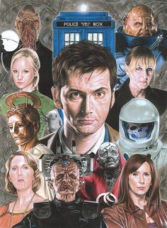 Doctor Who Challenge Day 7. Favorite Season: Season 4! There were a lot of good stories, even though the season ended so sadly :'(