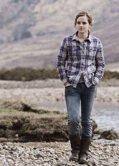 Emma Watson as Hermione Granger.