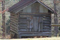 The old corn crib.