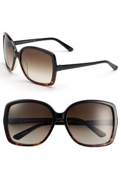kate spade new york 'darryl' oversized sunglasses available at #Nordstrom
