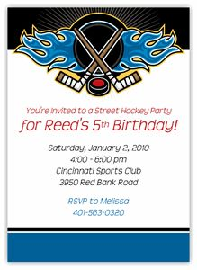 hockey party whistles chadds party Birthday Party Ideas