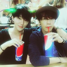 Yesung and Donghae - Super Junior