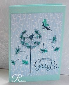 Sommerblumen, Pusteblume, Clear Stamps, Stampin'Up! Stempel,
