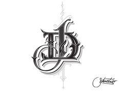 DJ monogram by Martin Schmetzer