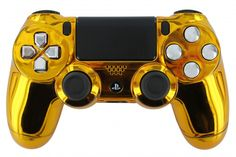 The Legendary PS4 Custom Controller Gold. #sony #ps4