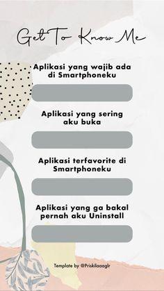 Instagram Story Questions, Hani, Bingo, Kawaii, Templates, Twitter, Friends, Quotes, Amigos