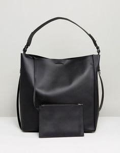 AllSaints North South Tote Bag - Black