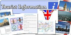 London Tourist Information Role Play Pack - London, role play Primary Resources, Tourist Information, Tower Of London, Role Play, Tower Bridge, Great Britain, Geography, England Tourism, United Kingdom