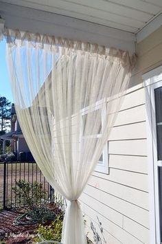 Bring Some Shade To Your Porch With Cheap Canvas Drop