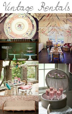 Vintage Rentals {Wedding Inspiration}