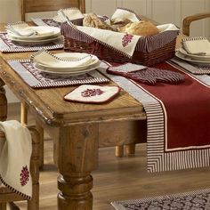 "New Primitive Rustic Lodge Cabin PINE CONE Circle Braided Jute Table Runner 34/"""