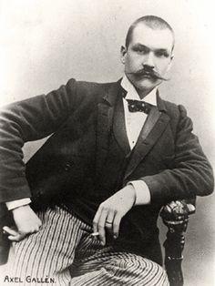 Akseli Gallen-Kallela. *Birthday 26 April (1865)* http://en.wikipedia.org/wiki/Akseli_Gallen-Kallela