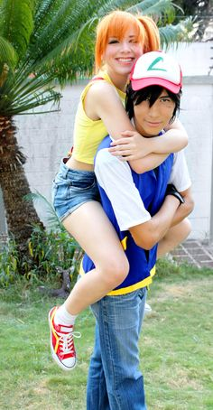 Misty and Ash - Pokemon Cosplay - Happiness by SailorMappy.deviantart.com on @DeviantArt                                                                                                                                                      More
