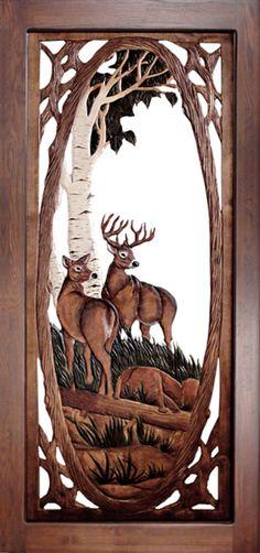 Wood Screen Door, Wood Doors, Screen Doors, Front Doors, Barn Doors, Rustic Doors, Deer Wood, Stainless Steel Screen, Decorative Screens