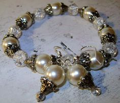 Stretch Bracelet & Earring Set Custom Created by: Rachel's Original Gifts. Featuring Jewelry so adorable,.. It's ADORNable