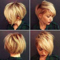 Perfect 30 Chic Short Haircuts Popular Short Hairstyles For 2017 Best Short Haircuts 2017 Best Short Haircuts See also: chic short hair 2017 Ashlee Simpson short hair has successfully make the o . Short Hair Hacks, Chic Short Hair, Short Hair Styles, Back Of Short Hair, Short Hair Does, Straight Hair, Short Hair For Round Face Double Chin, Short Hair Cuts For Women, Short Hairstyles For Women