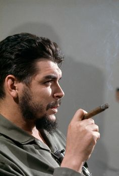 Che Guevara photographed by Elliott Erwitt during... - Eclectic Vibes