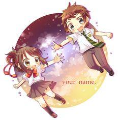Chibi couple / Anime /Mangá /Kawaii / Cute
