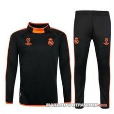 Survetement Foot Entrainement UCL Real Madrid 2015/2016 Orange