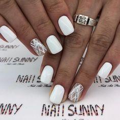 Идеи дизайна ногтей - фото,видео,уроки,маникюр! White Gel Nails, Rose Gold Nails, Diy Lotion, Lotion Bars, French Nails, Gel Toes, Manicure Y Pedicure, Stylish Nails, Nagel Gel