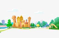 мультфильм,замок,детский сад,школа