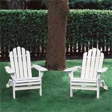 how about building a couple of adirondack chairs for the porch? #thisoldhouse #diy #porches