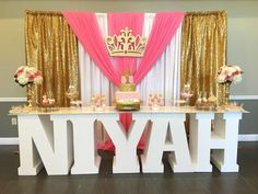 Quinceanera Party Planning – 5 Secrets For Having The Best Mexican Birthday Party Birthday Party Centerpieces, Birthday Decorations, Baby Shower Decorations, Birthday Backdrop, Baby Shower Princess, Princess Birthday, Sweet 16 Birthday, 1st Birthday Parties, 16th Birthday