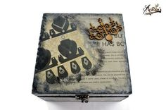 Jewelry Box Decoupage theme by AcRaosCreations on Etsy