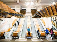 Interloop: Huge Art Installation by Chris Fox – Inspiration Grid   Design Inspiration #art #artinstallation #artwork #sculpture #artoftheday #inspirationgrid