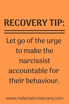 Truth - You must understand that there is no way to make the narcissist accountable – and trying to is one of the greatest hooks that are keeping you stuck in abuse. Learn more in this blog and find out how to move into acceptance so you can stop granting narcissist supply. #narcissists #accountability #revenge #abuserecovery