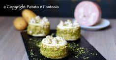 MIllefoglie salato con mousse di mortadella e patate - Powered by @ultimaterecipe