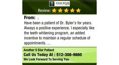 Have been a patient of Dr. Byler's for years. Always a positive experience....